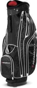 NEW Adams Golf Titan 12 Cart Bag   Black/White