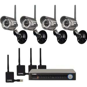 Digital Wireless Security Camera System Electronics