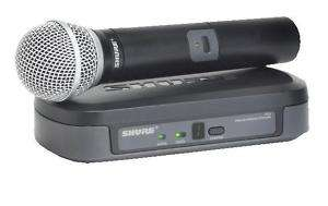 Shure PG24/PG58 Wireless Microphone System