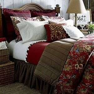 Ralph Lauren Chaps Summerton Floral Queen 4 Piece Comforter Set