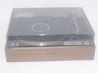 Vintage Pioneer Belt Drive RECORD PLAYER TURNTABLE PL 12