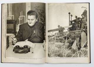 1950 STALIN ERA Soviet Propaganda Photo Album Estonia