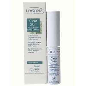 Logona Logona Clear Skin Blemish Stick Sage & Mint .17 fl oz   .17 fl