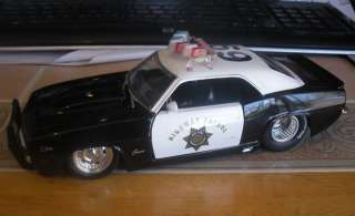 24 Scratch & Dent 1969 CHEVROLET CAMARO POLICE CAR