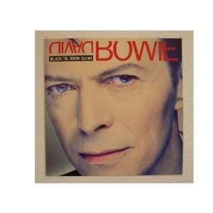 David Bowie Poster Black Tie White Noise