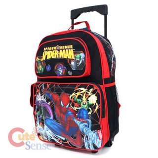 Spiderman School Roller Backpack Rolling Bag Monster 2