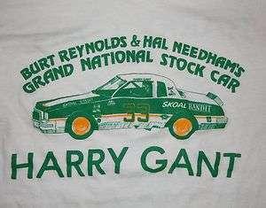 REYNOLDS HARRY GANT GRAND NATIONAL STOCK CAR RACING T SHIRT