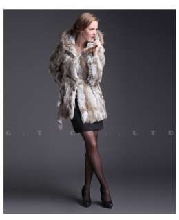 0305 rabbit fur Coats coats Jacket jackets overcoat for women for