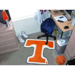 Tennessee UT Vols Volunteers Mascot Logo Throw Rug/Door
