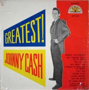 JOHNNY CASH Greatest SUN SLP 1240 LP