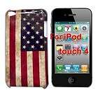 USA America United States flag hard back case cover iPod Touch 4 4th