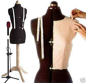 Top Range Lady Valet Adjustable Sewing Dummy Mannequin