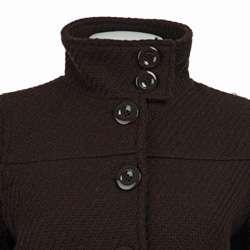 Womens Wool Blend Single breasted Walker Coat