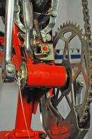 Peugeot UNS40 Folding Bicycle Collapsing Bike 550A Simplex Orange RARE