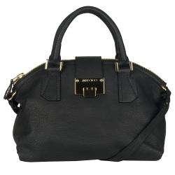 Jimmy Choo Rosa Black Leather Shopper Bag