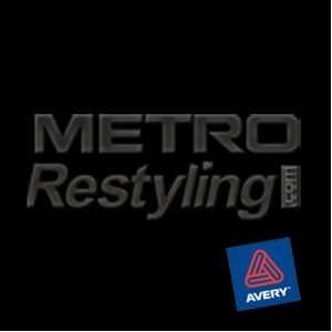 Metro Matte Black Wall Graphic, Craft, Cricut & Sign Vinyl