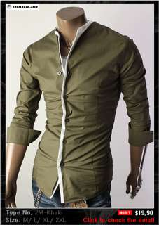 Doublju1 Mens Casual Best Button down Shirts Collection