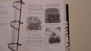 CASE 480C (480CK C) Loader Backhoe Service Manual, NEW