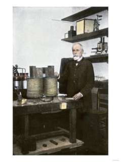 Professor Henri Becquerel in His Laboratory Giclee Print at AllPosters