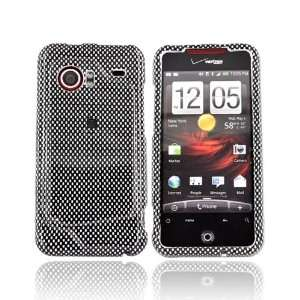 For HTC Droid incredible Hard Black Case CARBON FIBER Electronics