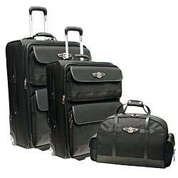 Beverly Hills Polo Club 3 piece Luggage Set