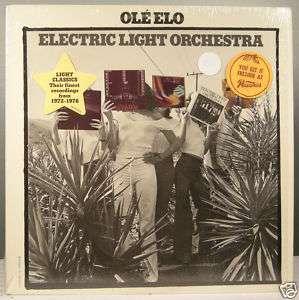 ELO Electric Light Orchestra OLE Jeff Lynne vinyl LP