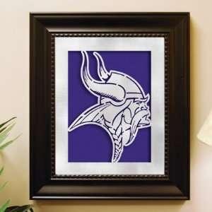 NFL Minnesota Vikings Laser Cut Logo Wall Art