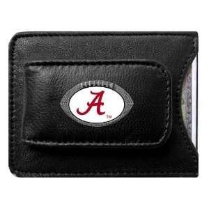 Alabama Crimson Tide NCAA Football Credit Card/Money Clip Holder