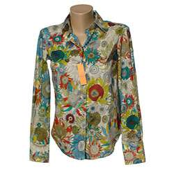 Robert Graham Womens Liberty Long sleeve Shirt