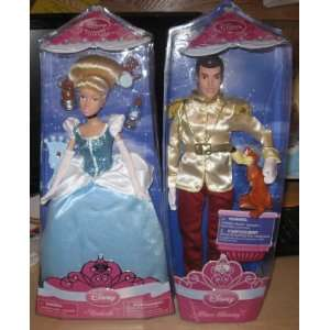 Princess Couple Dolls   Cinderella & Prince Charming
