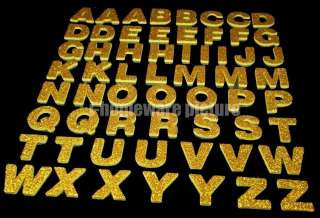 100 Pcs x ALPHABET LETTER Craft Foam 3D Crafts Self Adhesive Stickers