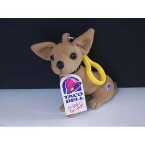 Taco Bell Chihuahua Dog Key/Backbpack Clip (1999