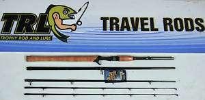 TRL Travel IM6 Casting Rod 15 40Lb 86W/Extra Tip Ideal Muskie Salmon