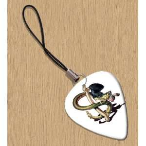 Slash Snakepit Premium Guitar Pick Phone Charm Musical