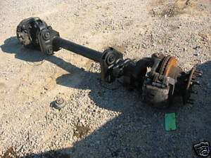 FRONT AXLE ASSEMBLY MONOBEAM 4X2 W/ABS COMPLETE 10 LUG