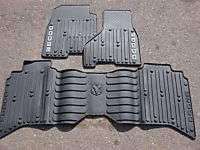 Dodge Ram QUAD CAB Gray Slush Style Floor Mats, Mopar