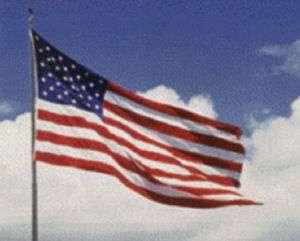 American USA 3 x 5 Sewn Nylon Flag Embroidered Stars