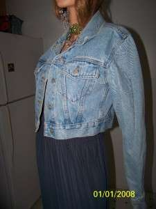 Great Condition Moda Internatioanl  Jean Jacket Light Wash Nice