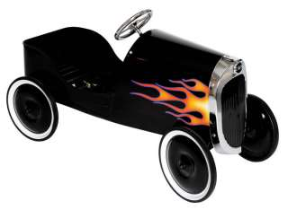NEW 1934 BLACK HOT ROD PEDAL CAR