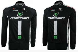 Black Cycling Bike Sports Wear Bicycle Long Sleeve Clothing Jersey
