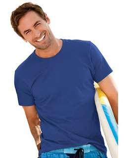 Hanes ComfortBlend EcoSmart Crewneck Mens T Shirt   style 5170