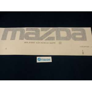 MAZDA B SERIES TRUCK NEW OEM REAR MAZDA DECAL Automotive