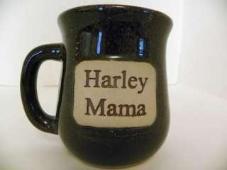 Muddy Water Pottery Harley Mama Coffee Cup Mug Stonewar