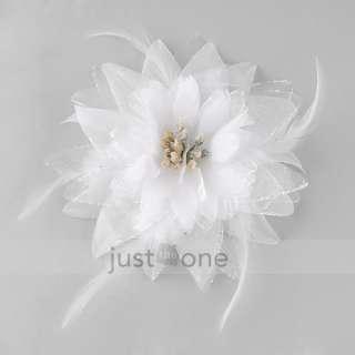 Tribal Party Wedding Hair Headpiece Head Flower Pin Brooch Clip