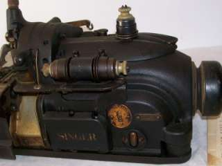 Singer Sewing Machine Commercial Model 246 3 Industrial Extra Needles