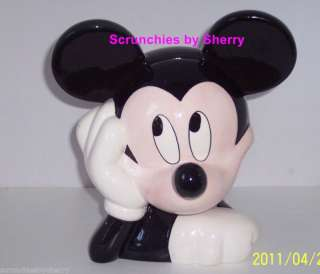 Disney Mickey Mouse Cookies Ceramic Cookie Jar TCraft