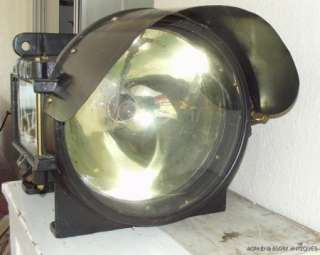 RAILROAD RR PYLE NATIONAL STEAM LOCOMOTIVE HEADLIGHT
