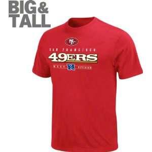 San Francisco 49ers Big & Tall CV T Shirt Sports