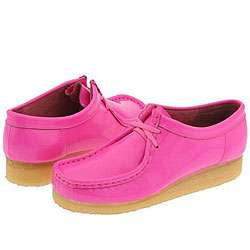 Clarks Wallabee   Womens Bright Pink Patent Leather  Overstock