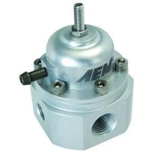 com AEM 25 302C Silver Adjustable Fuel Pressure Regulator Automotive
